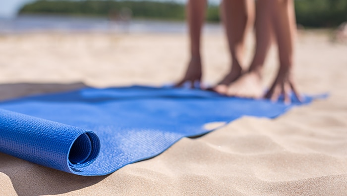 Take Your Yoga Outdoors this Summer!